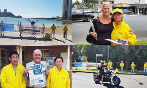 Автопробег по Австралии раскрыл правду о преследовании Фалуньгун в КНР