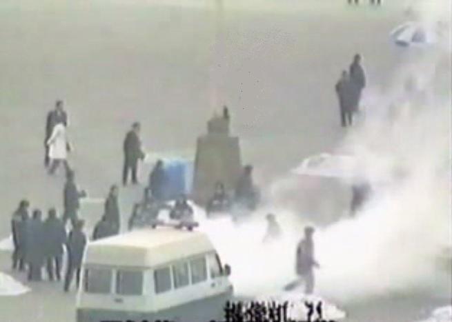 Ложь о Фалуньгун. Инсценировка самосожжения в Пекине в 2001 году