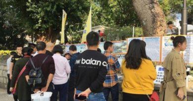 На отдыхе в Макао китайцы узнали правду о Фалуньгун