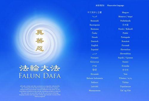 сайт, Фалунь Дафа, Фалуньгун