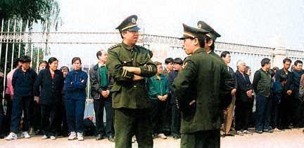 25 апреля 1999 года, мирный протест, Фалуньгун
