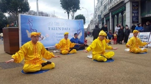 В Ирландии узнают о Фалуньгун, отмечая китайский Новый год