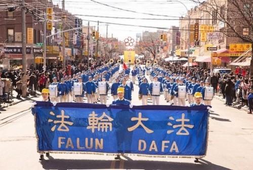 парад в Бруклине